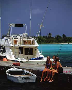 Cayman Island Fishing Boats