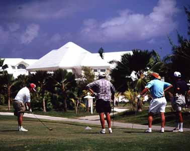 Golf at the Hyatt Britannia Cayman Islands